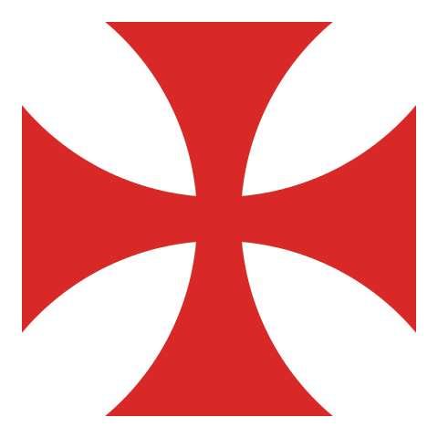 La croix des Templiers. © Liberal Freemasson, Wikimedia commons, DP