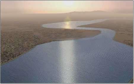 L'embouchure du Colorado. © DR