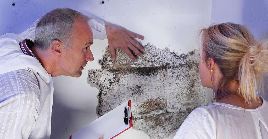 Mieux vaut faire un diagnostic humidité avant toute intervention. © Karin & Uwe Annas, Fotolia