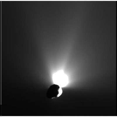 Photo Deep Impact - Impact Cosmique