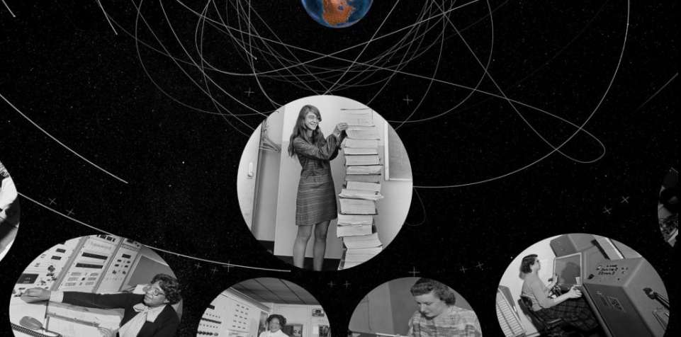 40.000 Américains… et Américaines pour concevoir et réaliser tous les éléments nécessaires à la réussite de la mission Apollo. © Planétarium de Saint-Étienne