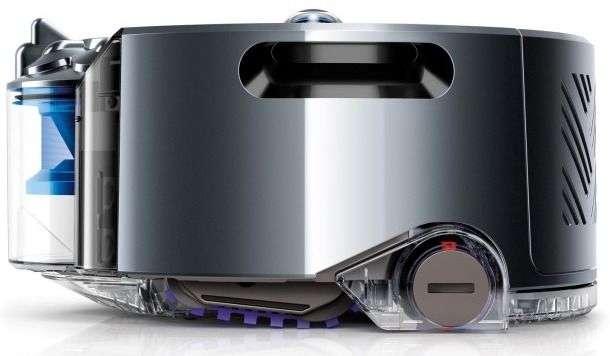 Dyson, l'entreprise britannique à l'origine de l'aspirateur sans sac, vient d'investir 14 millions d'euros dans Satki3. La société compte utiliser les batteries lithium-ion à l'état solide pour alimenter ses appareils sans fil et sans doute son robot aspirateur Eye 360. © Dyson