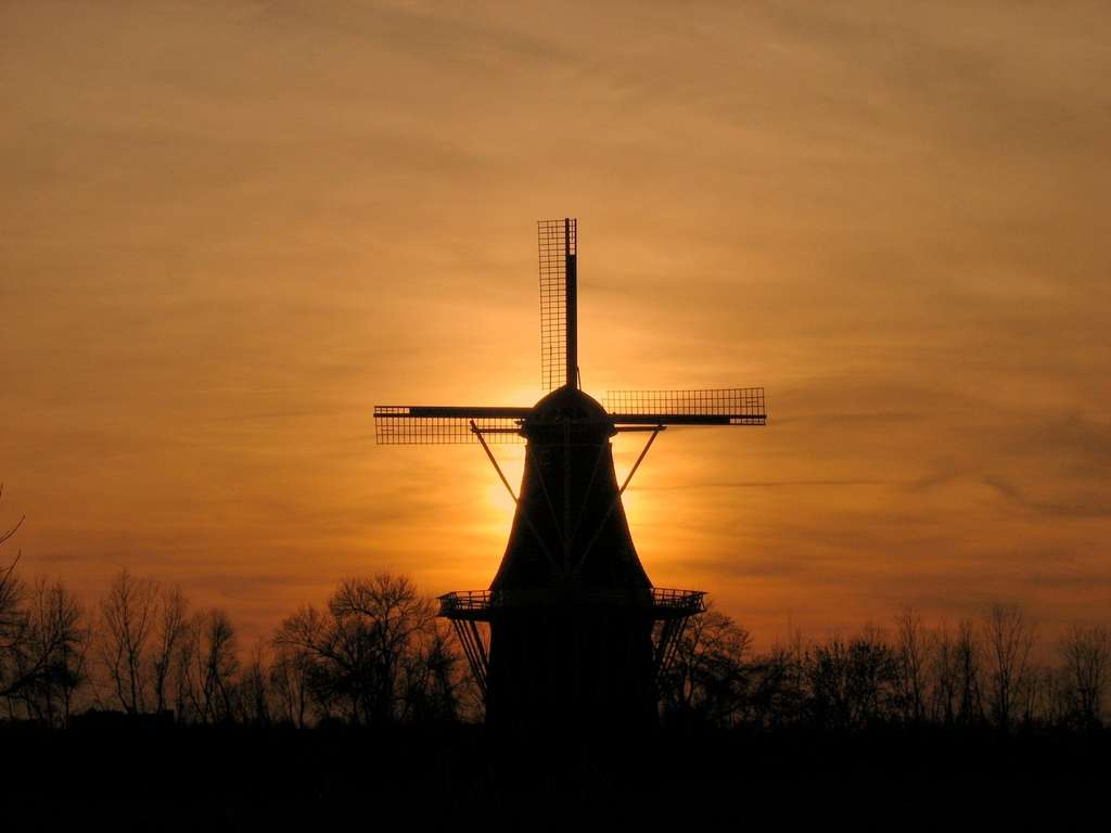 L'énergie des moulins, n'étant pas constante, est à l'opposé des principes de production d'aujourd'hui. © norjam8, Flickr CC by nc-nd 3.0