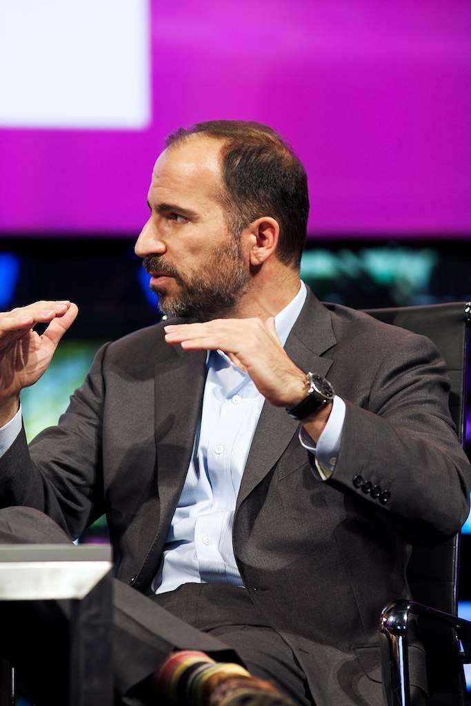 Dara Khosrowshahi a pris la direction d'Uber en août dernier. Il a la lourde tâche de sortir Uber de ses démêlés judiciaires, de renouveler la culture d'entreprise et de préparer l'entrée en bourse de la société. © George Grinsted, Wikimedia Commons, CC by-sa 2.0