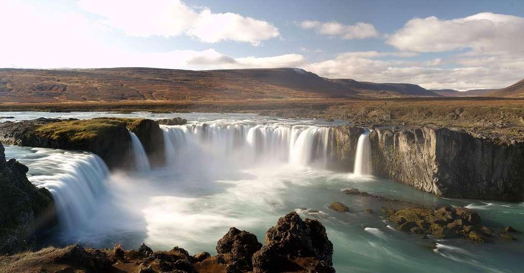 Les cascades de Gothafoss (Goðafoss). © Martin-D, CC by-sa 3.0