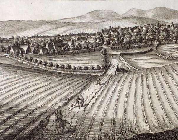 Durant les années 1690, l'Écosse a été frappée par un climat extrêmement rigoureux, avec des chutes de neige jusqu'au mois de juin. © John Slezer, Wikipedia