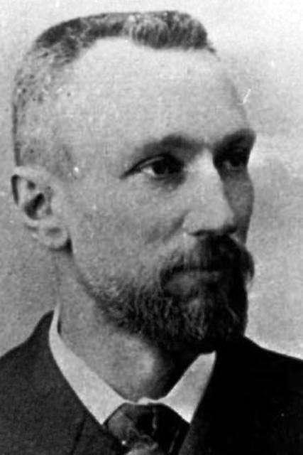 Le prix Nobel Pierre Curie travaille dès 1894 sur les effets magnétoélectriques des matériaux. © ACJC Fonds Curie et Joliot-Curie