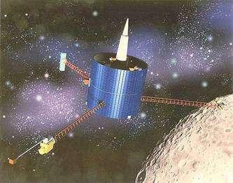 Sonde du programme Lunar Orbiter. © Nasa