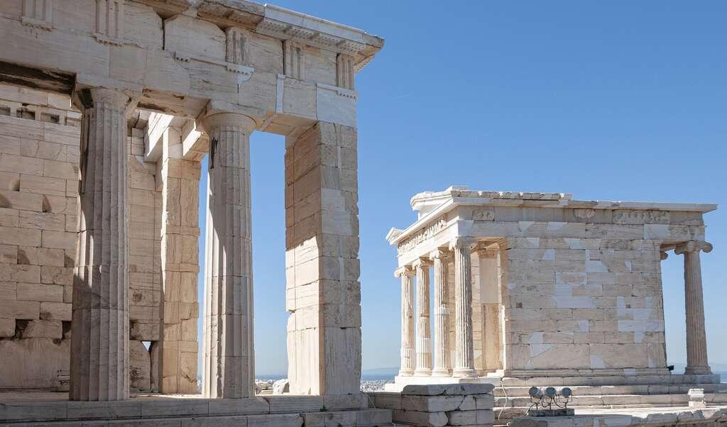 En août 2007, la Grèce a connu plusieurs semaines de sécheresse. Conséquence : des incendies dévastateurs et des sites historiques menacés. © Nick115, Pixabay License