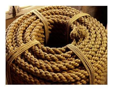 Corde en fibres naturelles. © DR