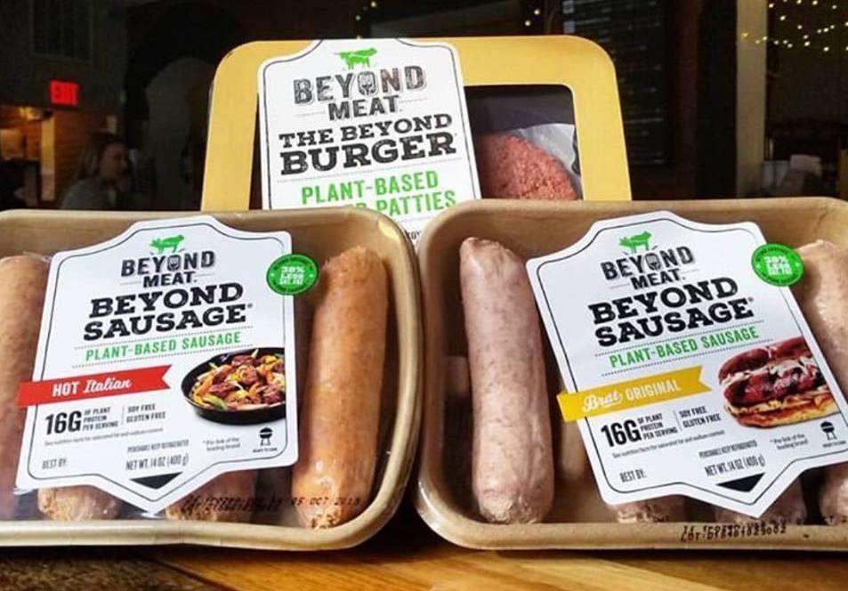 La fausse viande à base de protéines végétales, un alternative « durable » à l'élevage ? © Beyon Meat, Facebook