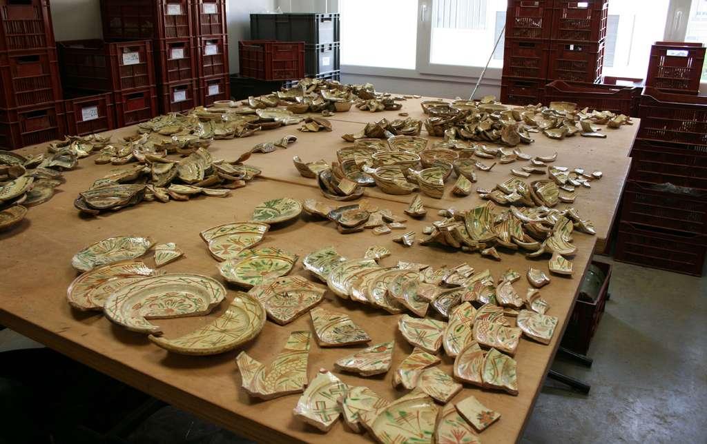 Quelques céramiques... © INRAP