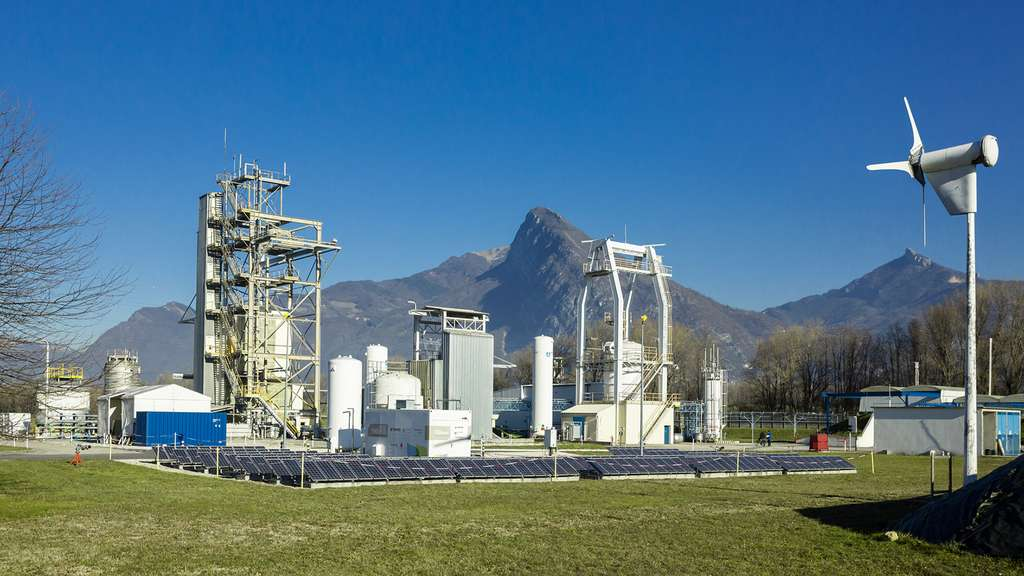 Les installations d'essais du site d'Air Liquide Advanced Technologies, à Sassenage (38). © Air Liquide