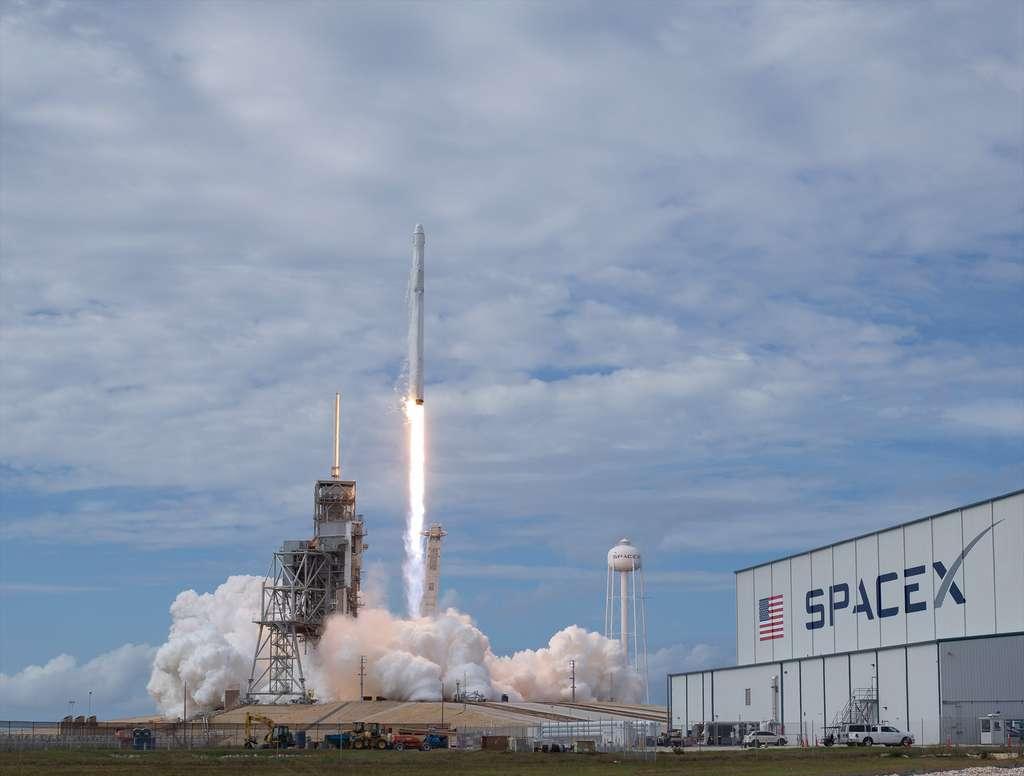 Le pas de tir 39A du Centre spatial Kennedy qu'utilise aujourd'hui SpaceX. © Nasa