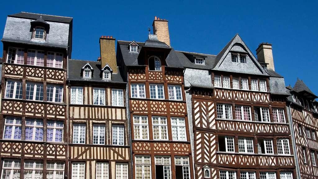 Rennes, joyau des maisons à pans de bois