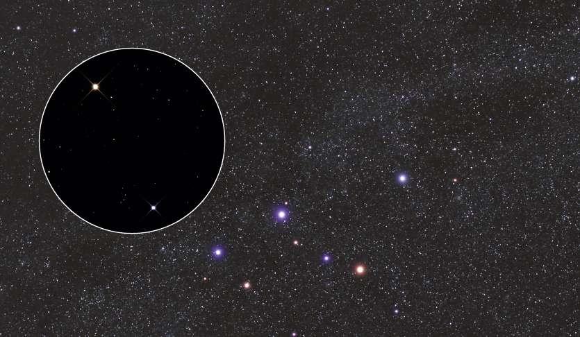 Rhô de Cassiopée, l'étoile la plus lointaine visible à l'œil nu