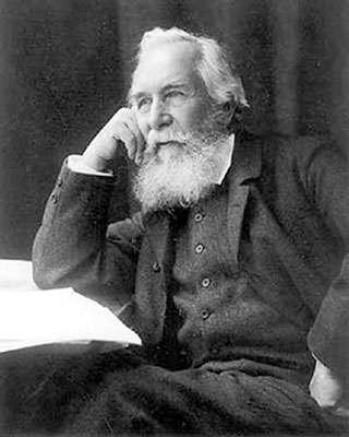 Ernst Haeckel, naturaliste allemand et célèbre précurseur.