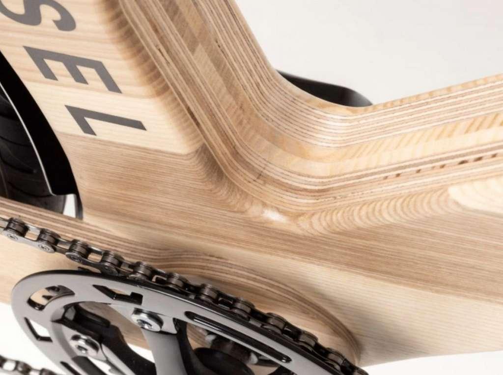 La finition du cadre en bois My Esel est superbe. © My Esel