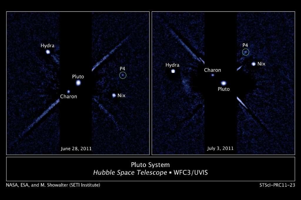 Kerberos, quatrième satellite de Pluton