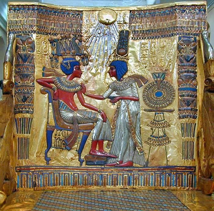 Dossier du trône royal de Toutânkhamon