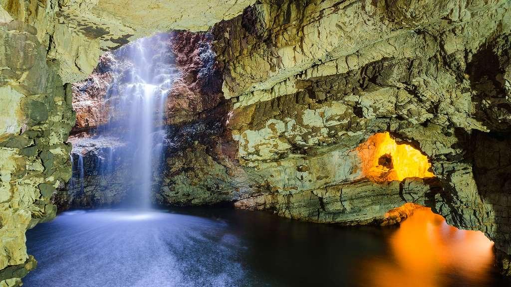 La grotte de Smoo, à Durness, en Écosse