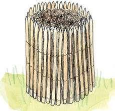 Quelle forme pour un composteur ? © Michel Caron, éditions Ouest-France
