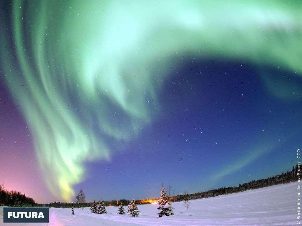 Fond D Ecran Aurore Boreale Alaska