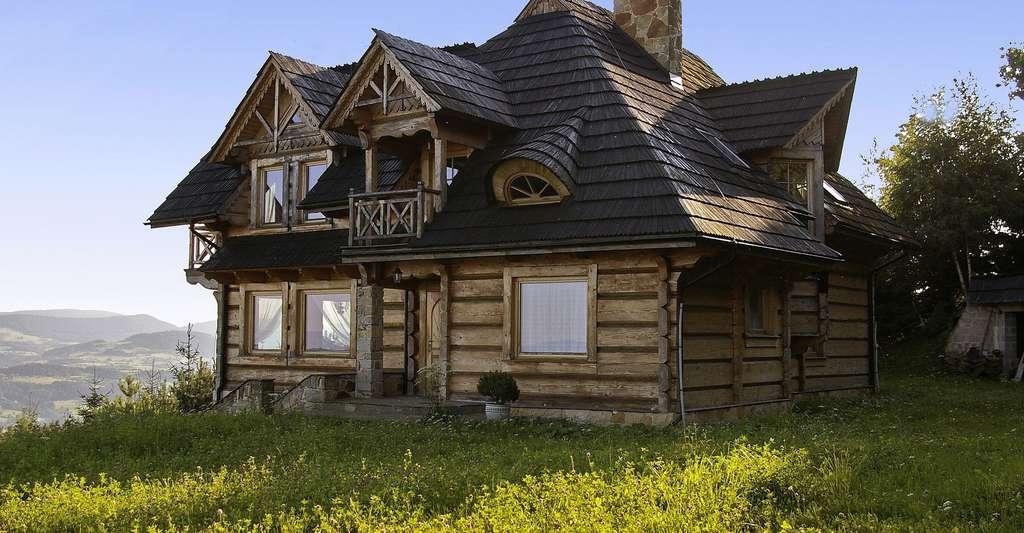 Maison en bois. © Cortez13, Pixabay, SP