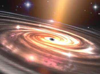 Voyager à travers les trous noirs : l'un des nombreux rêves des scientifiques en matière de propulsion spatiale © T. Lombry