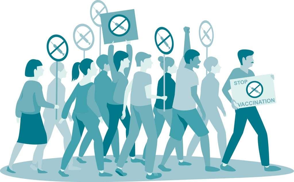Les mouvements anti-vaccination sont déjà très actifs dans plusieurs pays. © Zubada, Adobe Stock