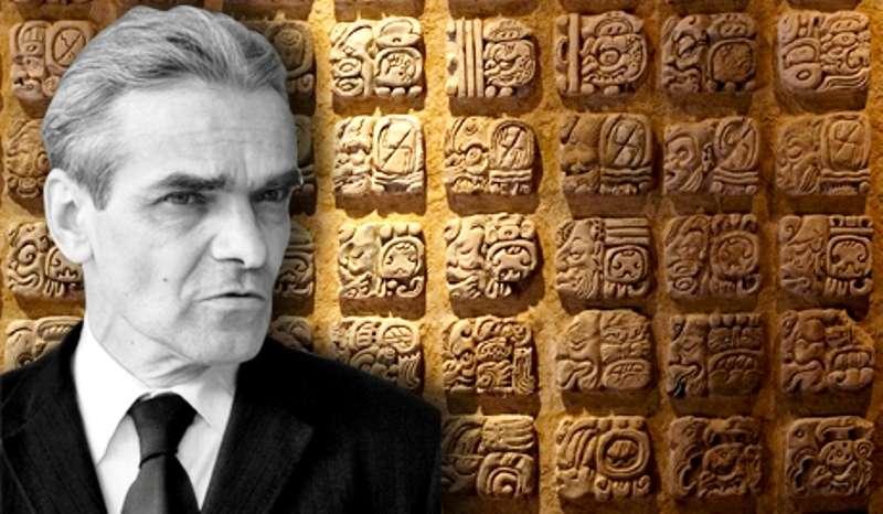 Youri Knorozov (1922-1999) était un linguiste, épigraphe et ethnographe russe principalement connu pour son apport considérable au déchiffrement de l'écriture maya. © La Voz de Rusia