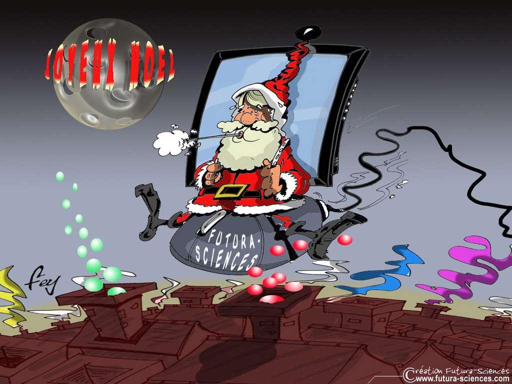 Le Père Noël arrive....