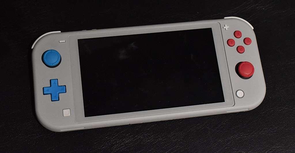 La console de jeux Nintendo Switch Lite © Wikipedia