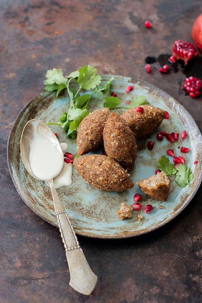 Kibbehs végétaliens © Claire Curt - Manuela Chantepie