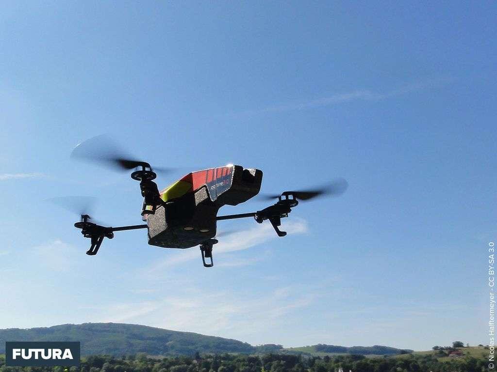 Drone en livraison