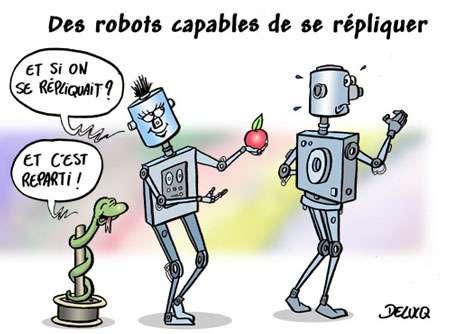 Des robots capables de se répliquer