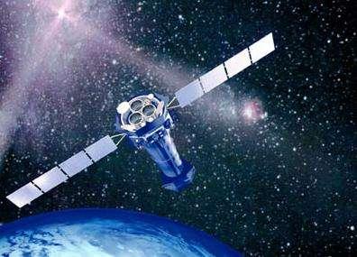 Le télescope spatial XMM-Newton (Crédits : ESA)
