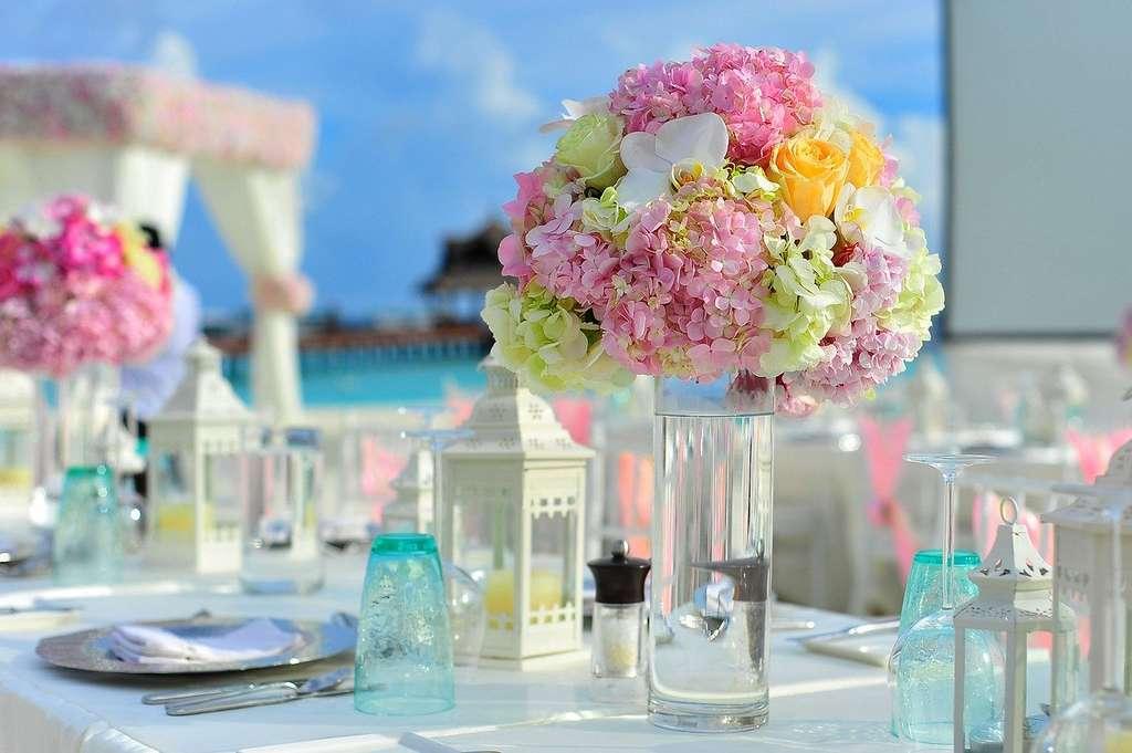 L'ensemble de la décoration d'un mariage peut être thématisé. © Pixels, Pixabay