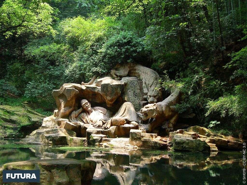 Source du rêve du tigre - Sculpture à Hangzhou - Chine