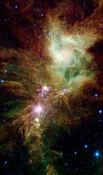 NGC 2264. © Nasa