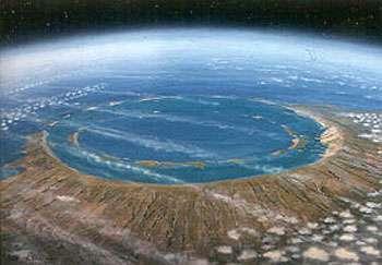 Impact plus 1.000 ans. © W.K. Hartmann