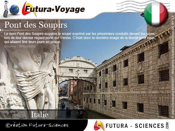 Venise, le pont des soupirs - Italie