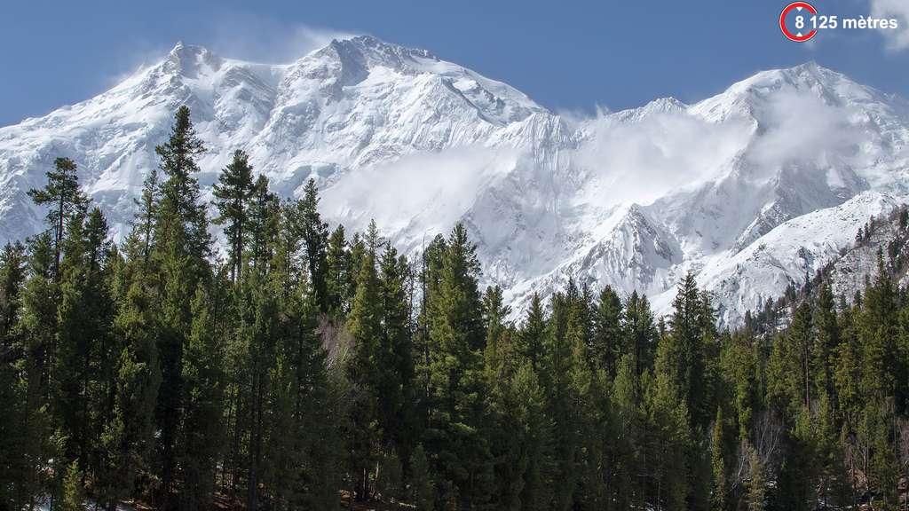 Nanga Parbat, la « Montagne nue », dans l'Himalaya
