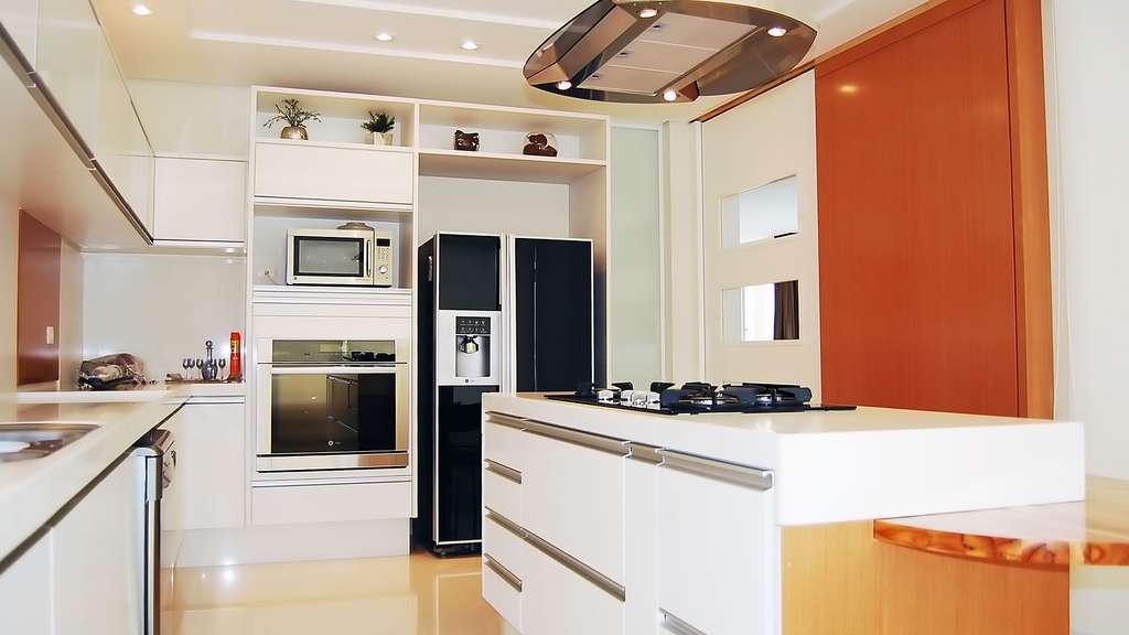 Une cuisine moderne et fonctionnelle