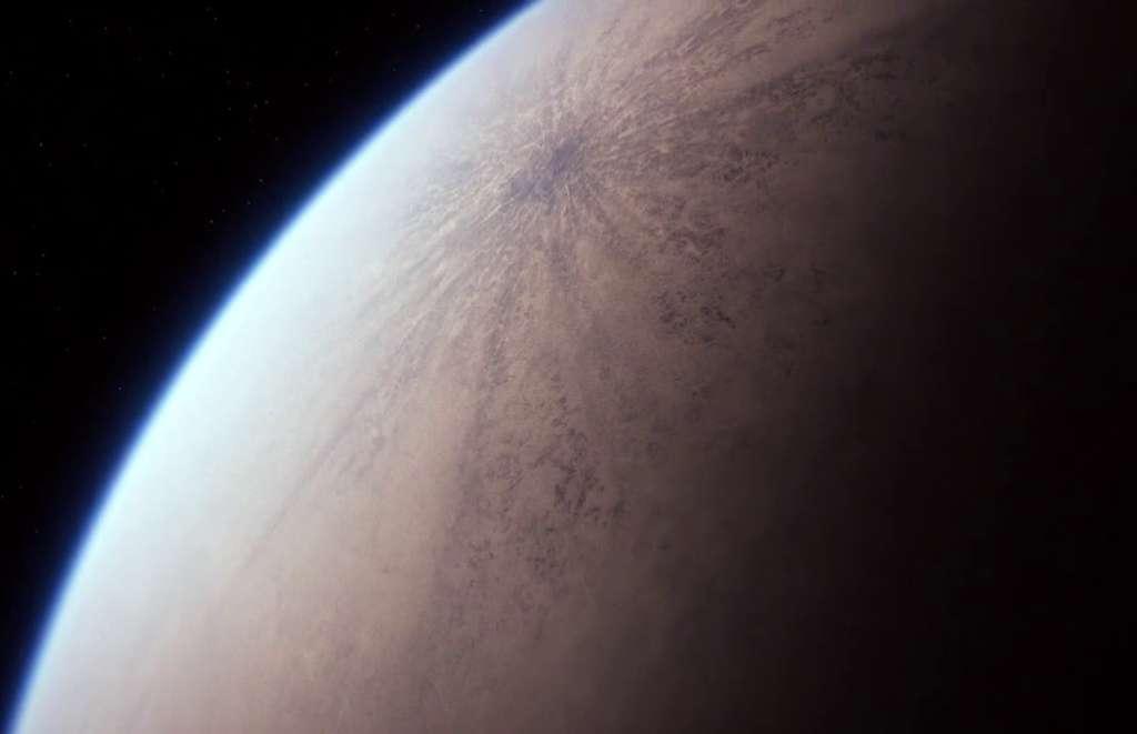 La planète Jakku ressemble beaucoup à Mars. © Lucasfilm, Disney