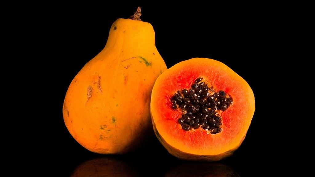 La papaye, le fruit des anges