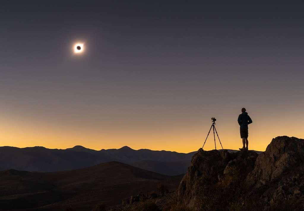 Superbe image de la Cordillère des Andes. © Alyn Wallace