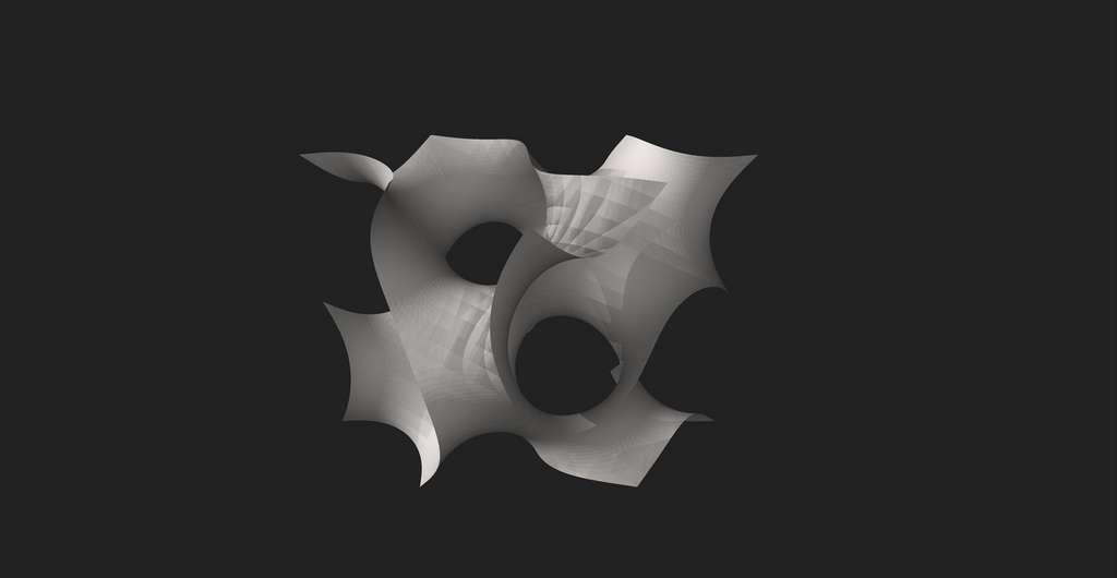 Gyroïde. © Parcly Taxel, wikimedia commons, License ArtFree