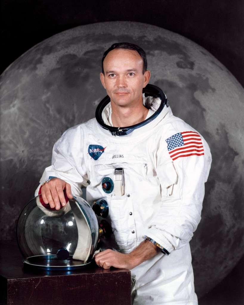 Michael Collins, membre de l'équipage d'Apollo 11, en juillet 1969. © Nasa