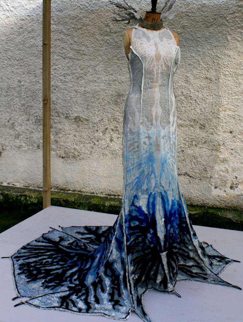 Robe « Herself », du projet Catalytic Clothing 2011. © Nik Daughtry, DED associates, EDP Sciences, CC by-nc 3.0